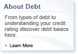 About Debt